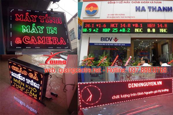 Làm biển điện tử giá rẻ chất lượng cao tại Hà Nội