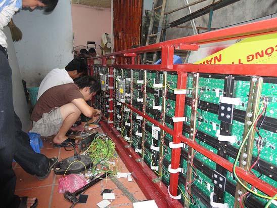 Sửa chữa biển quảng cáo led ma trận tại Hà Nội
